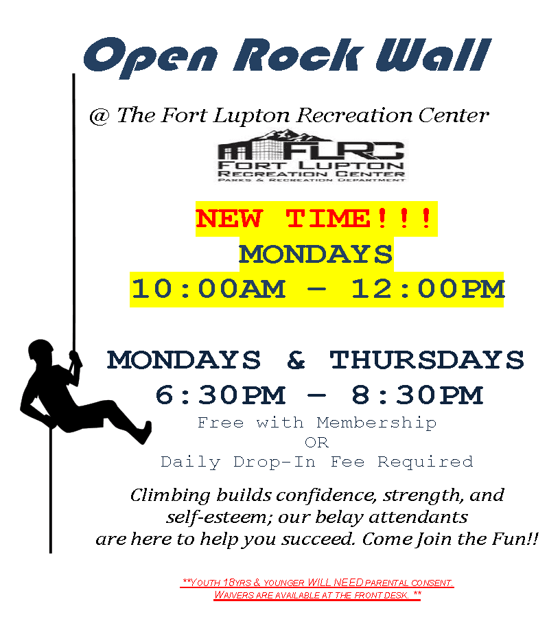 open Rock Wall