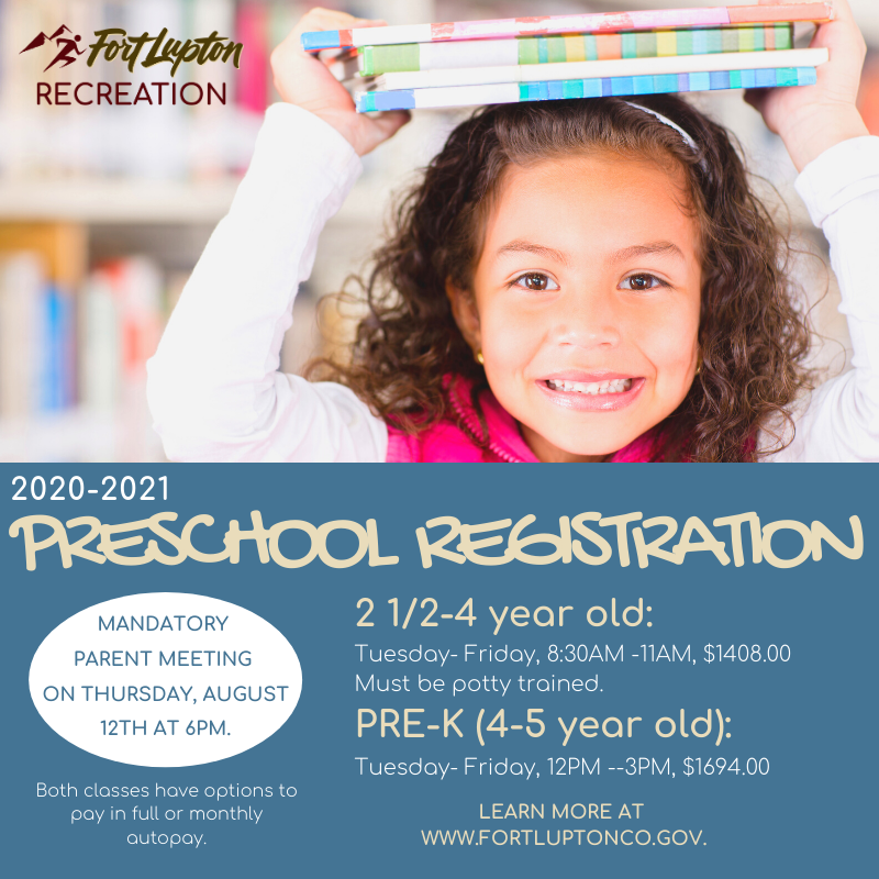 FL Preschool Registration