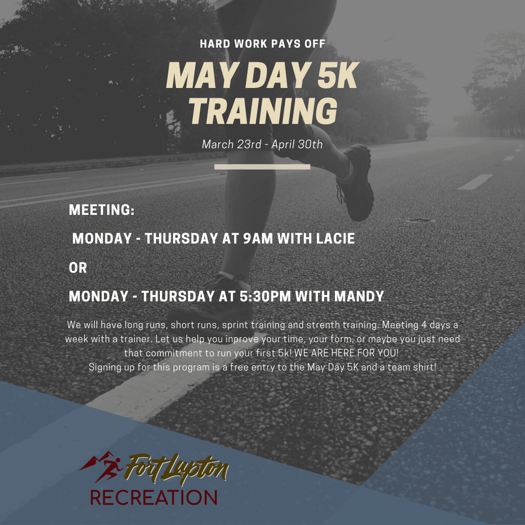 May Day 5K training