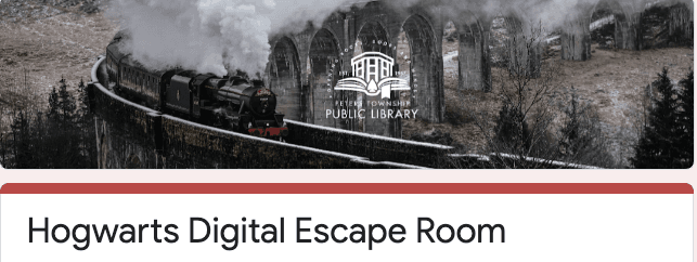Hogwarts Digital Escape Room Opens in new window